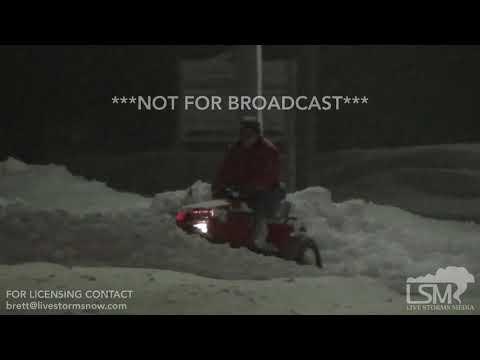 12-25-17 Chautauqua County, NY - Intense Lake Effect Snow