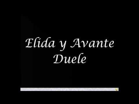 Elida y Avante - Duele - Letra