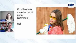 Menstrua higieno kaj daŭripovo – Manuela Ronco kaj Charlotte Scherping-Larsson | KAEST 2020
