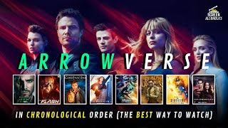 Arrowverse Episode Order - CWverse