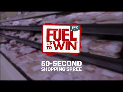Fuel Up to Win 2018 | 50 second Shopping Spree