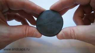 Заглушка круглая для трубы с наружным диаметром 50(http://www.endcaps.ru интернет-магазин пластиковых заглушек., 2013-08-23T16:17:15.000Z)