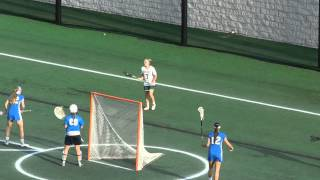 Warther goal Stephen Decatur/Century girls lacrosse 3A/2A state finals 5/20/15