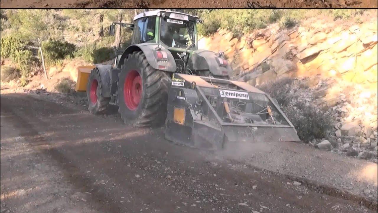 Estabilizado de suelos con cemento youtube for Cemento inyectado suelo