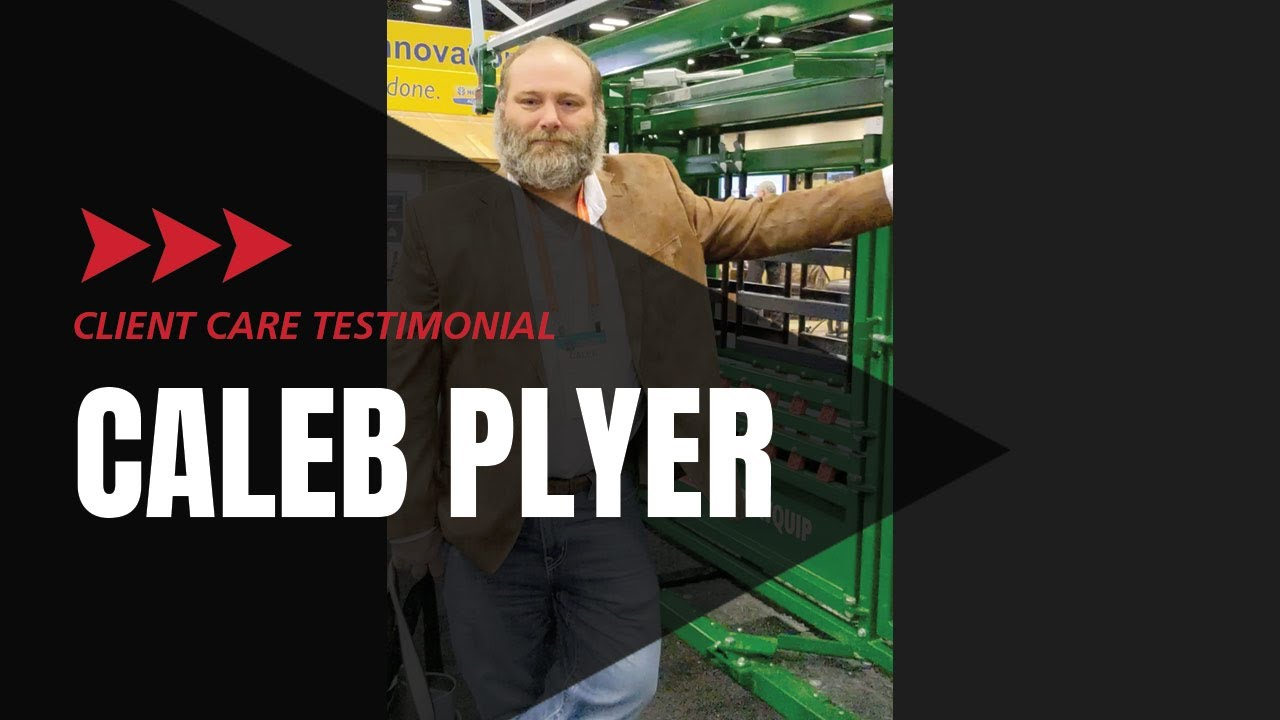 Customer Service Testimonial Caleb Plyer Arrowquip Cattle Equipment Catch Squeeze Chute