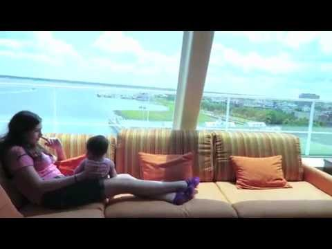 CARNIVAL SUNSHINE CAPTAIN'S SUITE ROOM 9115 VIDEO #22