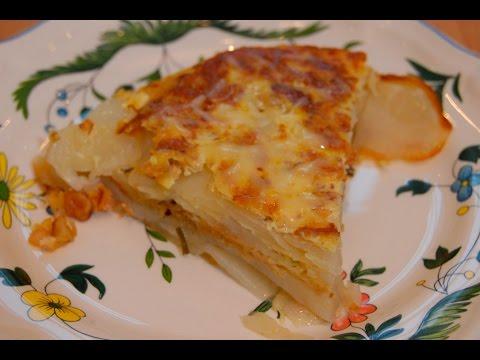 Приготовить Юлия Высоцкая  Картофельный пирог онлайн видео