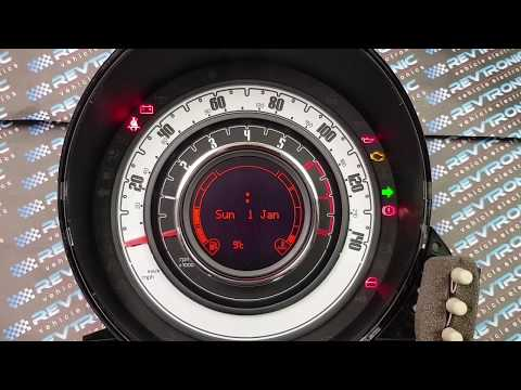 Fiat 500 Cluster Repair By Revtronic