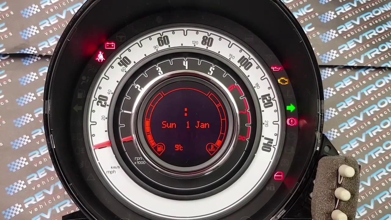 Top Auto Modelle  Car Warning Lights Fiat 500