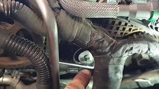 Remplacement courroie de pompe HP - sur 407 Coupé V6 2.7 HDI 204
