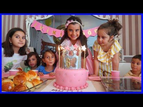 Prenses Rüya'nın 6 Yaş Günü Partisii İyi ki Doğdun Rüya!