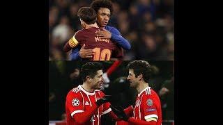 Le Débrief Champions League, Chelsea 1 1 Barça, Bayern Munich 5 0 Besiktas