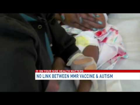 No link between MMR vaccine and autism, says new study