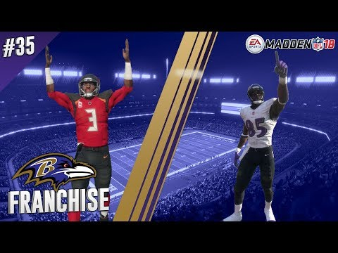Revived Run Game? | @ Bucs (S2,G7) | Madden NFL 18 Baltimore Ravens Franchise Ep. 35