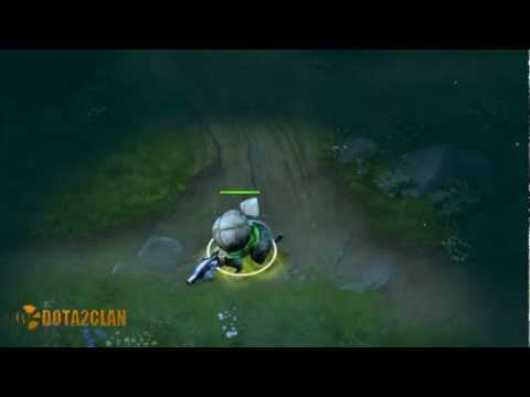 Dota 2 Store - Unusual Fearless Badger - Effect Resonant Energy