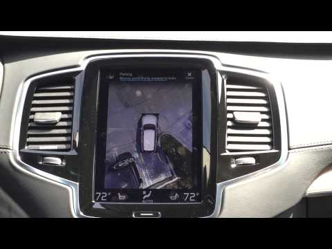 2016 xc90 park assist pilot with 360 degree surround view youtube. Black Bedroom Furniture Sets. Home Design Ideas