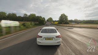 Forza Horizon 4 - 2014 Maserati Ghibli S Q4 Gameplay [4K]