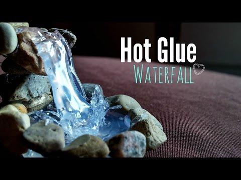 Hot glue Waterfall Tutorial ღ