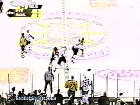 Wayne Primeau vs Hal Gill & Jamie Pushor vs P.J. Stock Feb 8, 2003