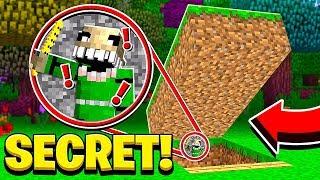We Found NIGHTMARE BALDI'S Secret Base in Minecraft!