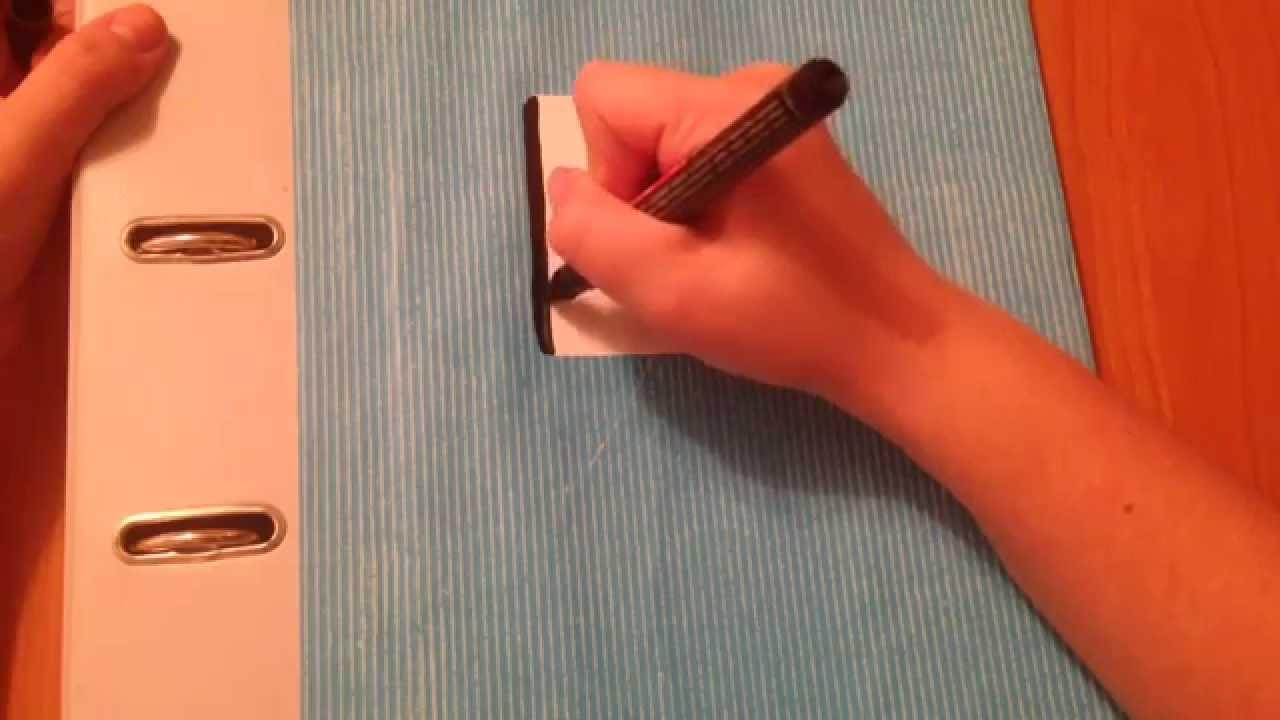 Папка SOHO A4 S 647E 2 кольца синяя - YouTube