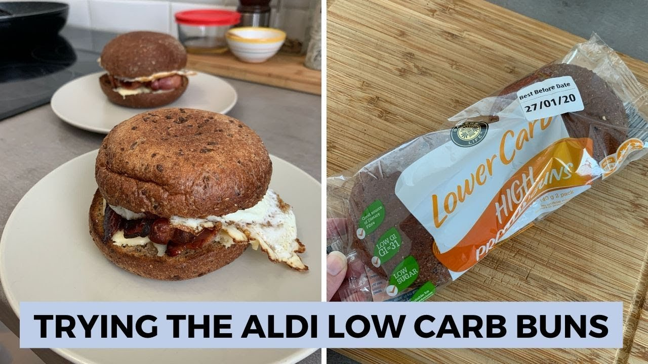 Trying The Aldi Low Carb Buns Daily Vlog Jan 19th Youtube