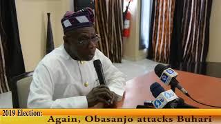 2019 Election: Again, Obasanjo attacks Buhari