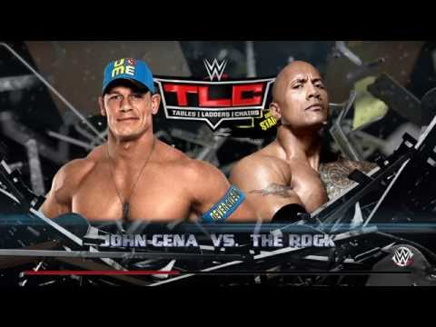 WWE 2K16 - John Cena VS The Rock