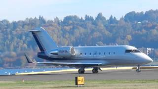 N614BA - 2005 Bombardier CL-600-2B16 C/N 5614 - Boeing Aircraft Holding Company