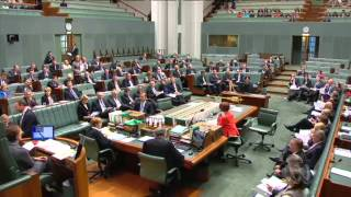 Tony Abbott thrown out of Question Time
