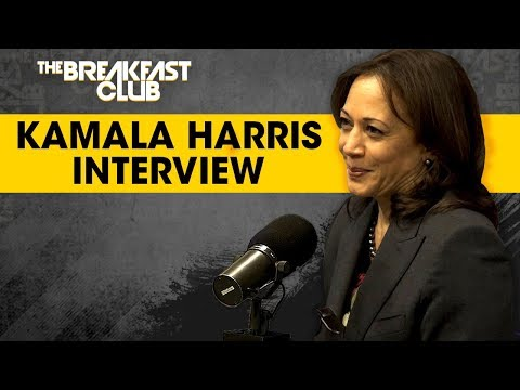 Breakfast Club Interviews - Kamala Harris Talks 2020 Presidential Run, Legalizing Marijuana + Rumors