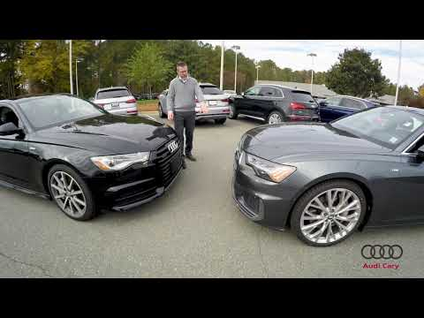 2018 and 2019 Audi A6 Nose-to-Nose Comparison