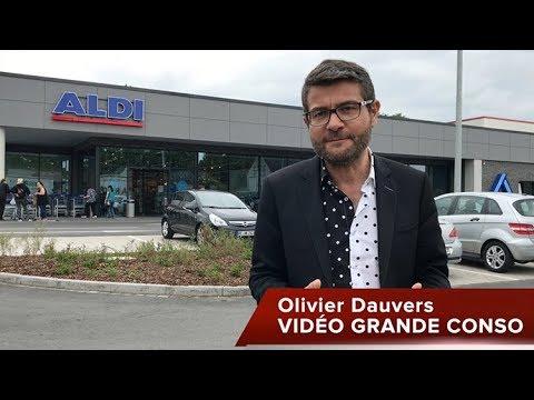 VIDÉO GRANDE CONSO : Comment Aldi réenchante l'expérience d'achat (Herten, Allemagne)