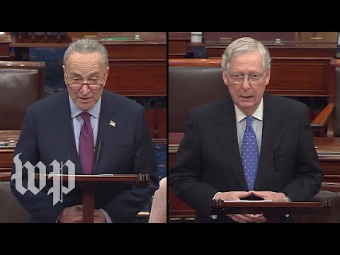 WATCH LIVE: McConnell speaks on Senate floor after House impeaches Trump