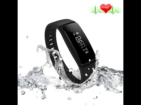 RIVERSONG Fitness Tracker Heart Rate Monitor Blood Pressure Bracelet