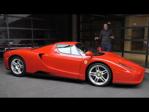 Heres a Tour of a $3 Million Ferrari Enzo
