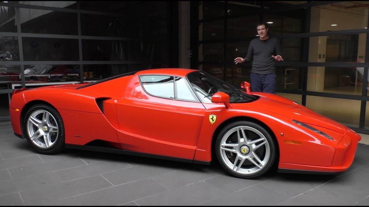 Here's a Tour of a $3 Million Ferrari Enzo - YouTube