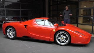 Here's a Tour of a $3 Million Ferrari Enzo