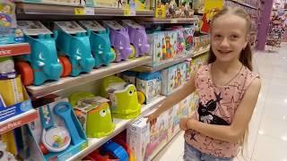Магазин игрушек Выбираем подарок Игрушки для детей Помогите выбрать подарки Подпищики управляют