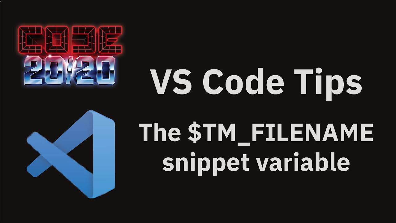 The $TM_FILENAME snippet variable
