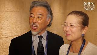 Erya and Keiko Mitsuhashi, Jerusalem Prayer Breakfast 2018