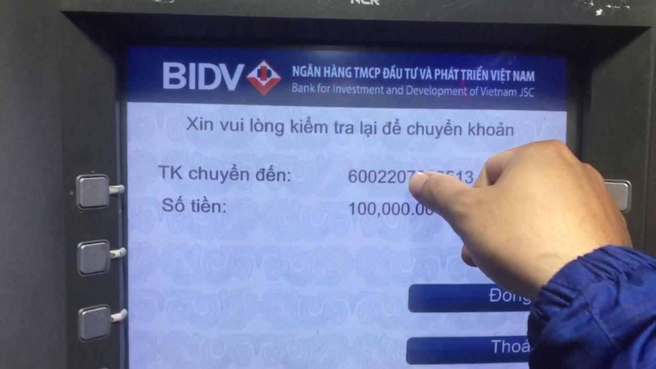 Viettelpay: đổi pin, rút tiền, chuyển khoản thẻ viettelpay tại ATM bidv được không?
