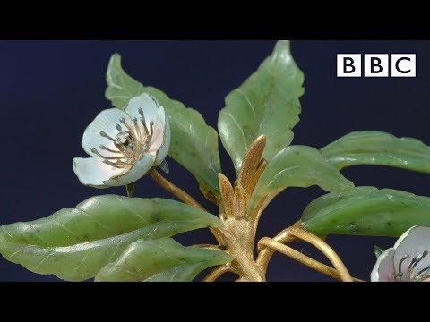 Magical Faberge flower gets £1 million valuation - Antiques Roadshow - BBC One