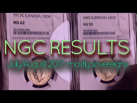 NGC Results | Gold Sovereigns explode with a bang also some Chinese