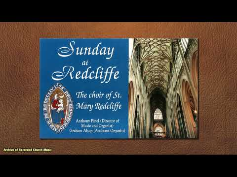 """Sunday at Redcliffe"": St Mary Redcliffe, 1996 (Anthony Pinel)"