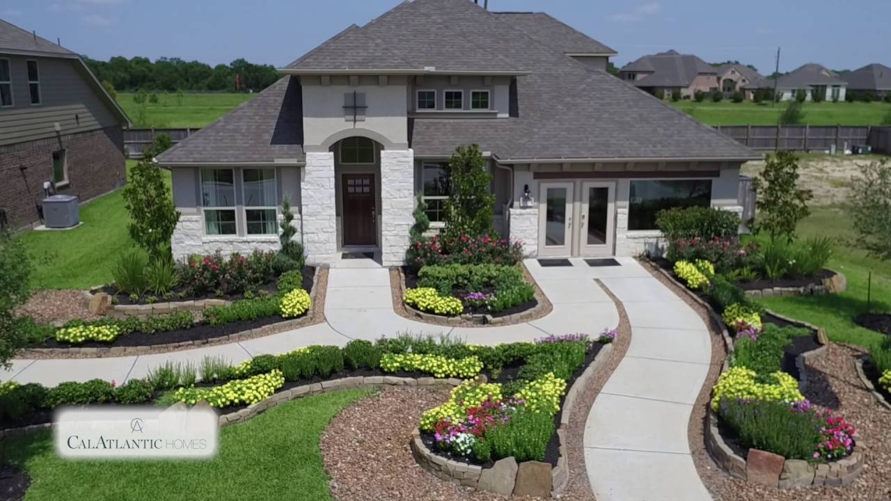 Enclave At Highland Glen New Homes In Houston Tx Youtube