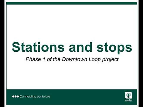 Stations and stops