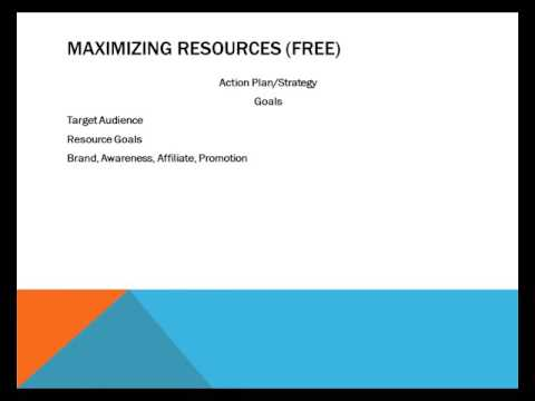 Maximizing Information Resources For Profit - Video 9 - Strategy Goals