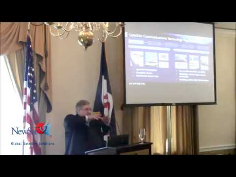Washington Space Business Roundtable: Kymeta's discusses satellite antenna innovation