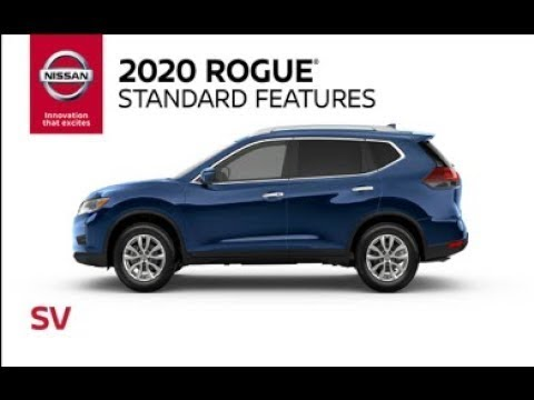 2020 Nissan Rogue SV Model Review